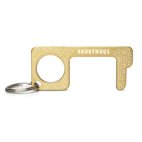 Anonymous - Engraved Brass Touch Tool