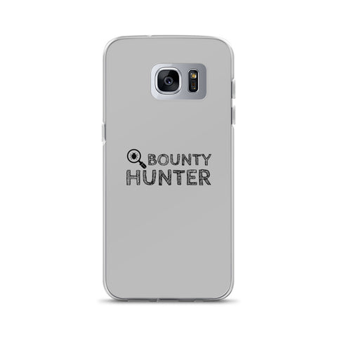 Bug bounty hunter - Samsung Case (black text)