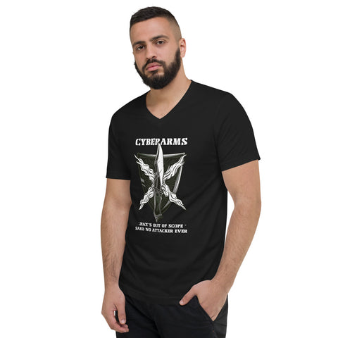 CyberArms - Unisex Short Sleeve V-Neck T-Shirt