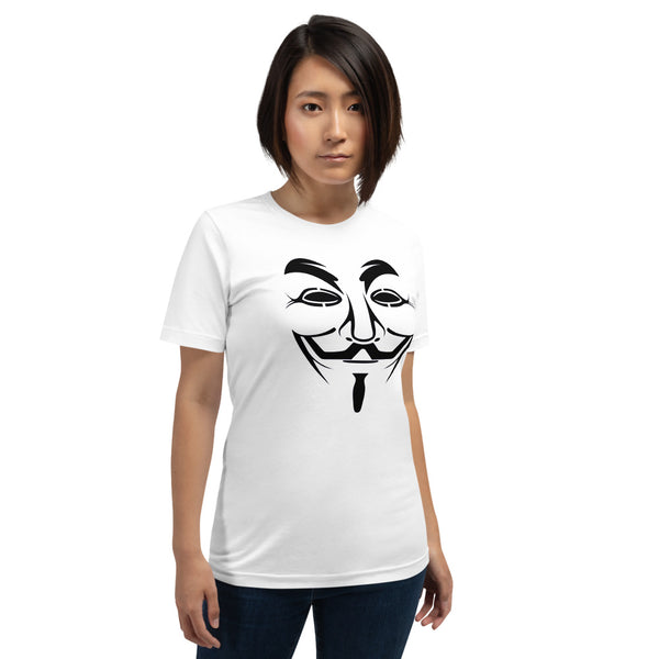 Anonymous - Short-Sleeve Unisex T-Shirt (black)