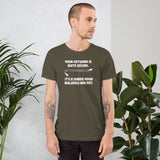 Your network is quite secure - Short-Sleeve Unisex T-Shirt