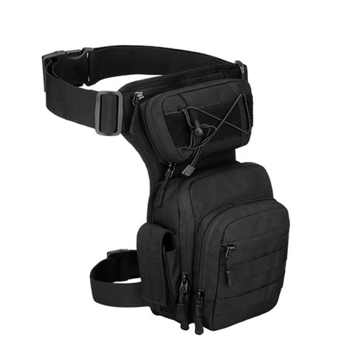 Men Leg Bag Thigh Bag Utility Belt Waist Pack Pouch Adjustable Hiking Male Waist Hip Motorcycle Bags Sport Outdoor 2020
