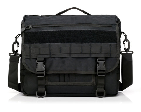 Molle Military Laptop Bag Tactical Messenger Bags Computer Backpack Fanny Belt Shouder Camping Outdoor Sports Army Bag