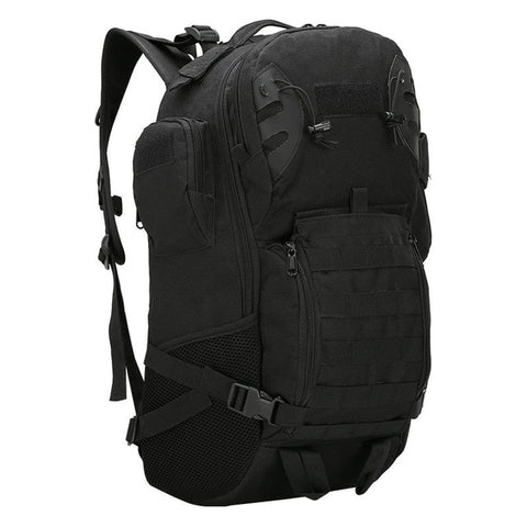 45L Outdoor Military Backpack Tactical Rucksack Camping Hiking Travel Sports Bag Climbing Army Bags Molle Hunting Sack