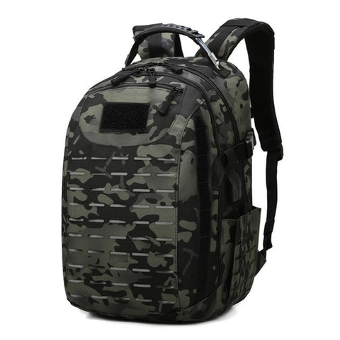 USB Tactical Backpack Hiking Military Bag Camping Rucksack Sport Backpacks Travelling Hiking Outdoor Bags Army Molle Bag