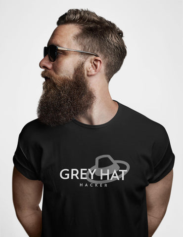Grey Hat Hacker - Short-Sleeve Unisex T-Shirt