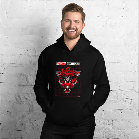 Red Mecha Guardian  - Unisex Hoodie
