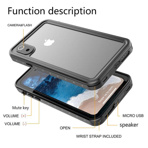 Ultimate iPhone 360 Degree Shockproof Diving Cover