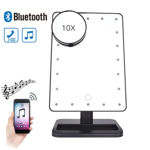 Touch Screen Bluetooth Vanity Mirror