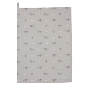 Sophie Allport terrier dog tea towel
