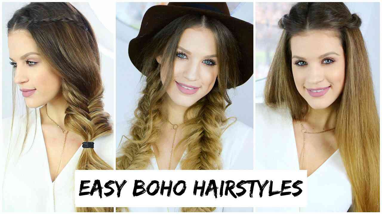 Boho Hairstyles Cute Boho Hair Ideas Styles For Any Hair