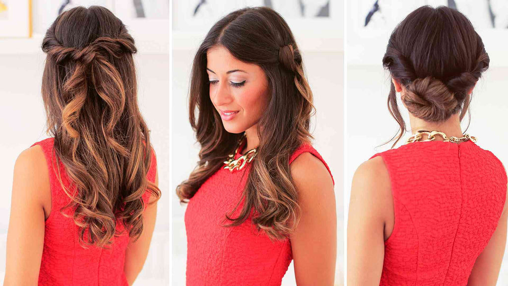 Easy Everyday Hairstyles – Luxy Hair