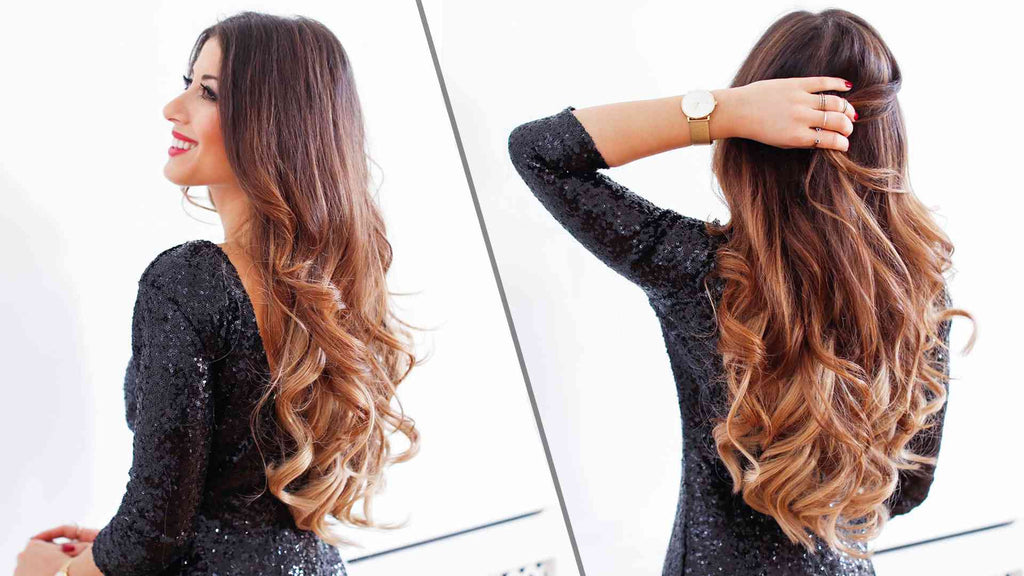 5 Minute Holiday Waves Luxy Hair