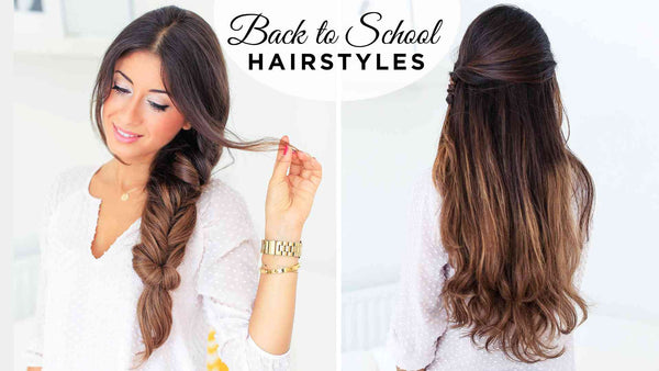 Back To School Hairstyles ft. Fluffy Braid