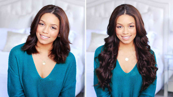 How To: Clip-In And Blend Hair Extensions With Short Hair