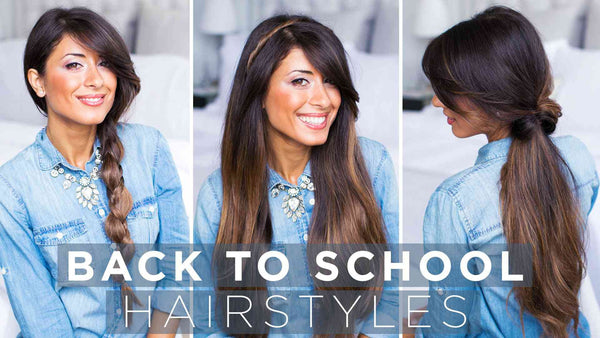 Cute & Easy Back To School Hairstyles