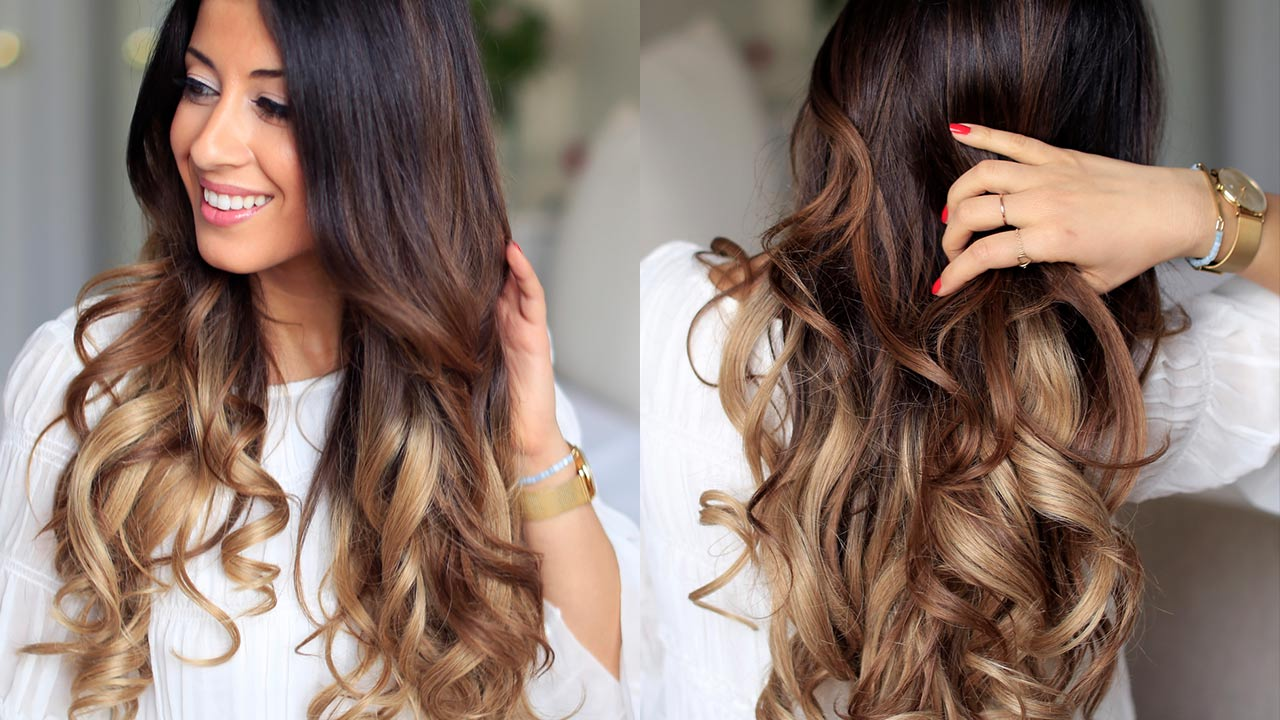 How To Curl Your Hair In 2 Minutes Luxy Hair