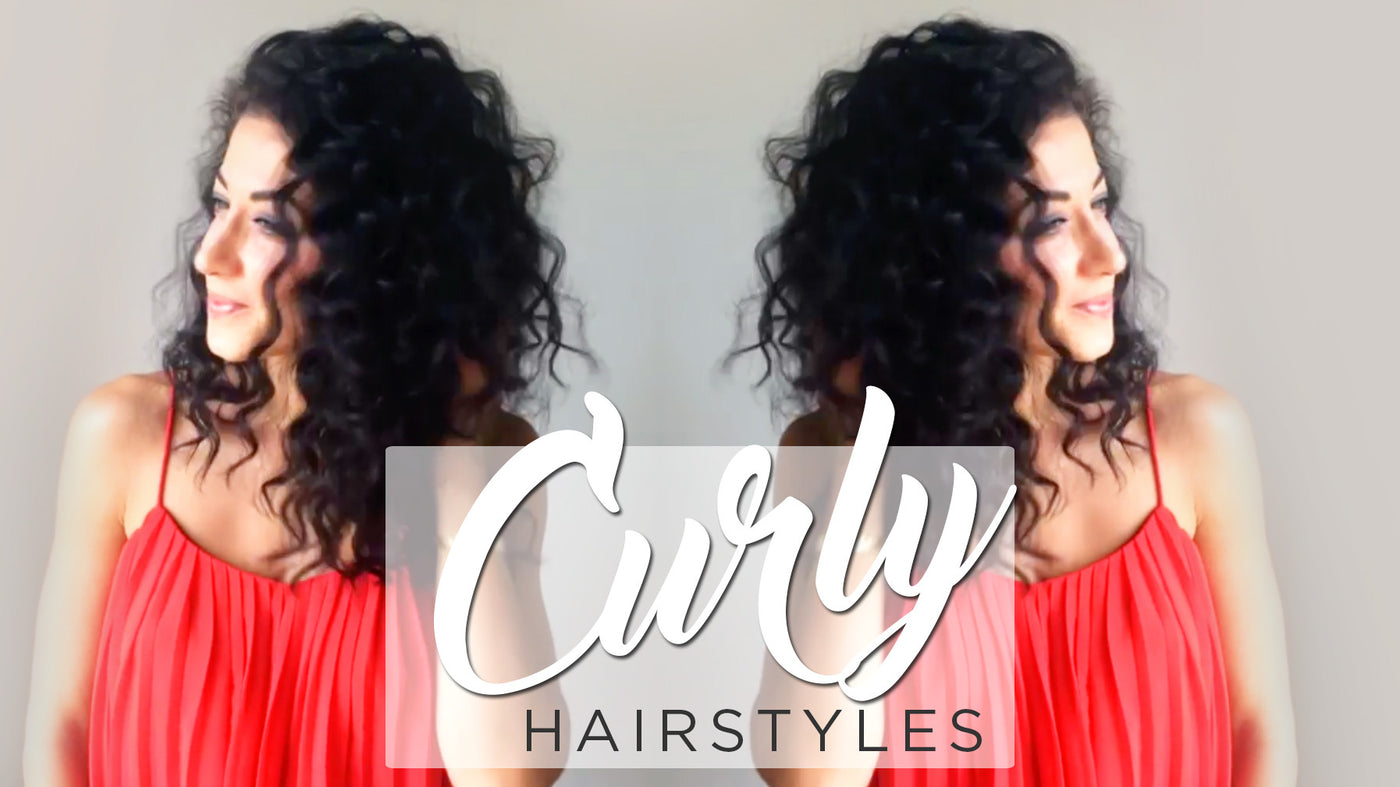 Curly Hairstyles: Quick, Simple & Cute Ways To Style Curly Hair