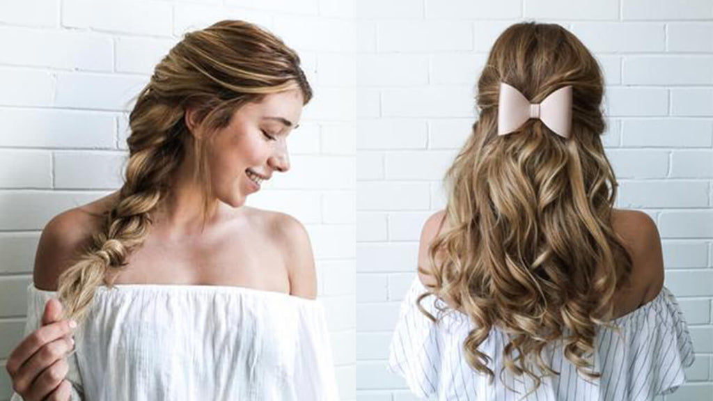 4 Easy Back To School Hairstyles Luxy Hair