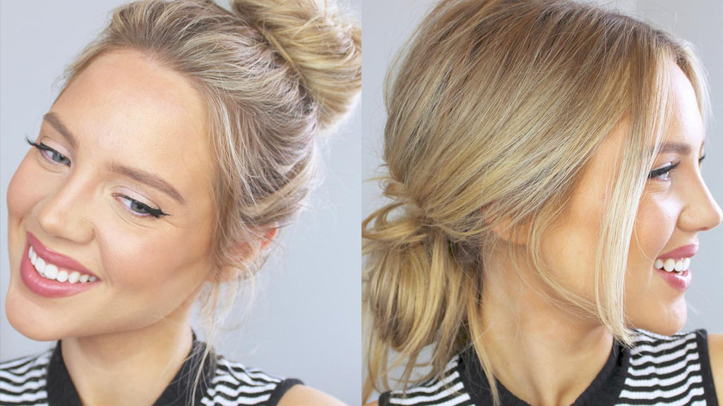 Easy Messy Bun Hairstyles