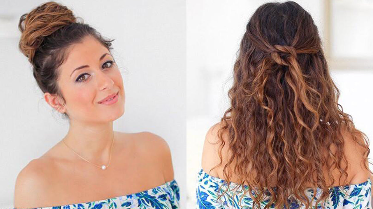 Hairstyles For Frizzy Hair Best Hairstyles For Naturally