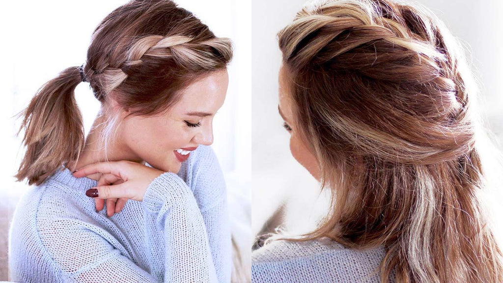 Cute Hairstyles For Short Hair And Medium Length Hair Luxy Hair