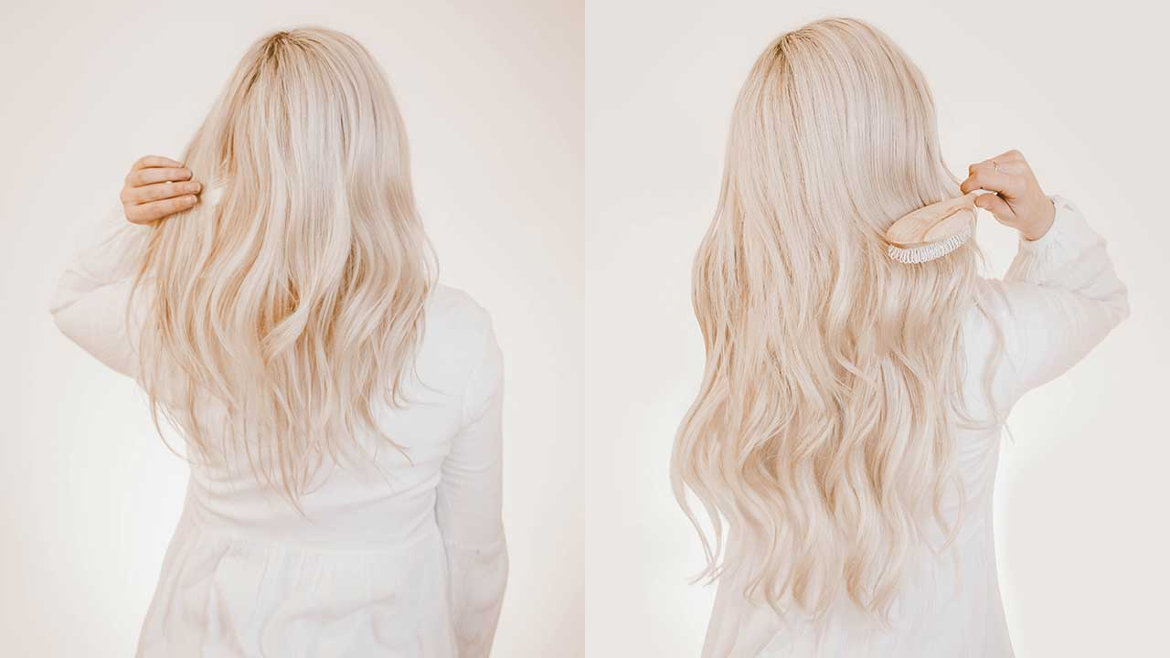 How To Clip In Hair Extensions \u2013 Luxy Hair