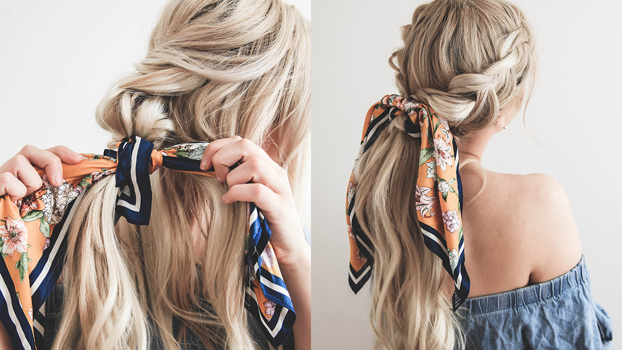 Image result for hair scarf