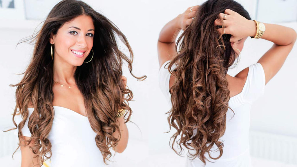 Heatless Curls How To Get Heatless Curls Waves Easily Luxy Hair