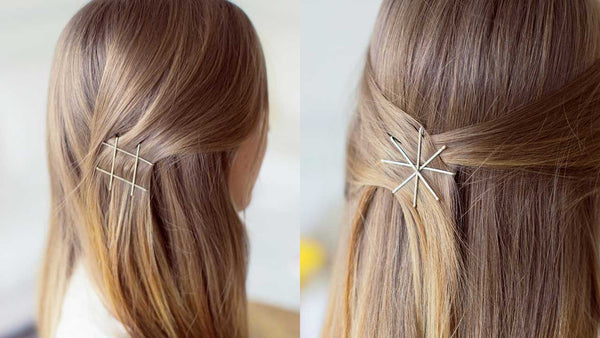 5 trendy ways to wear a bobby pin
