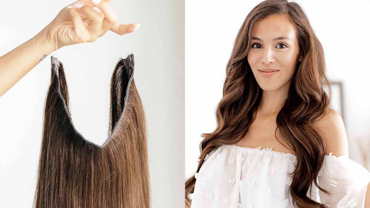 What are Halo Hair Extensions: All of Your Questions Answered.