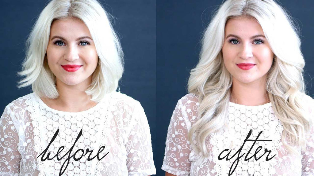 How To Blend Hair Extensions With Short Hair Luxy Hair
