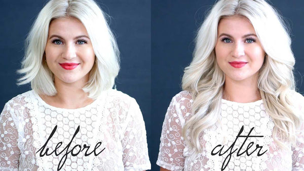 How To Blend Hair Extensions With Short Hair