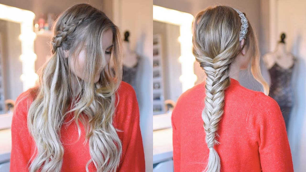 Holiday & Party Hairstyles: 10 Easy Holiday Hairstyles