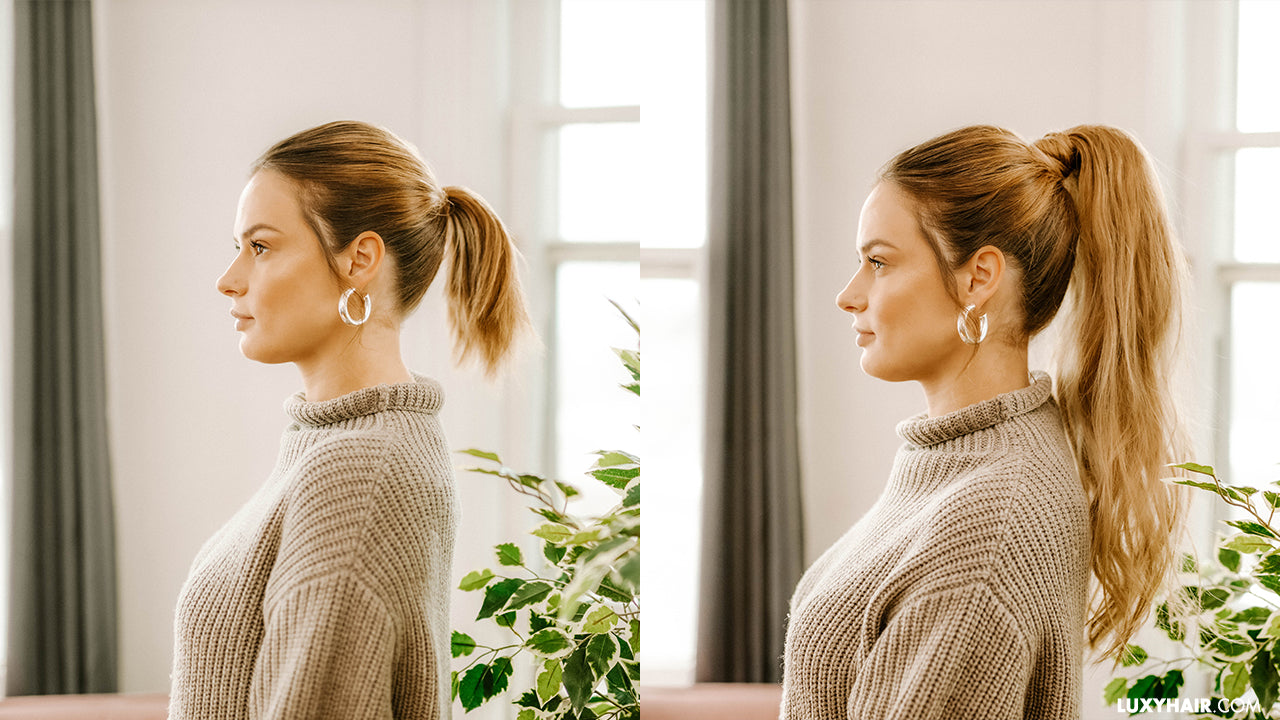Ponytail Extensions How To Do A Ponytail With Extensions