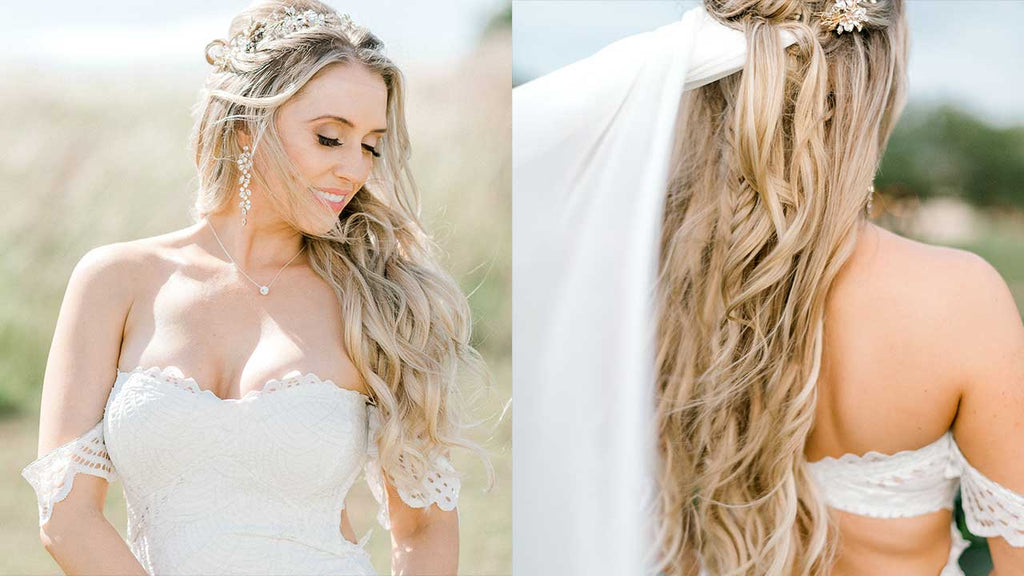 Wedding Hairstyles For Long Hair Beautiful Long Hairstyles For Brides