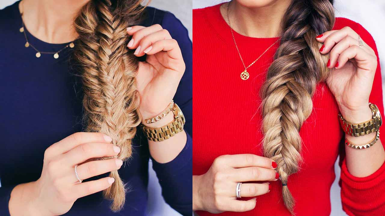 4 advanced fishtail braids to try – Luxy Hair