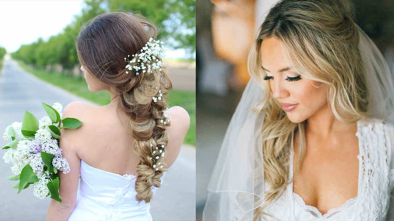 How To Throw A Glamorous Wedding Hair Ideas Photos Inspiration