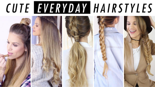 long hair everyday styles hairstyle ideas weeks worth of hair styles cuts colors 4269 | Luxy Hair Everyday Hairstyles grande