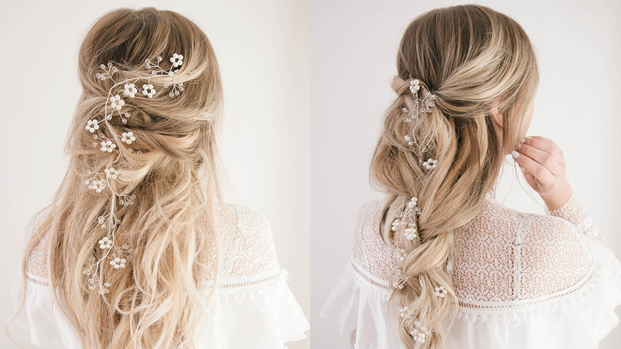 Wedding Hairstyles: Bridal Hair Guide, Ideas & Photo Inspiration