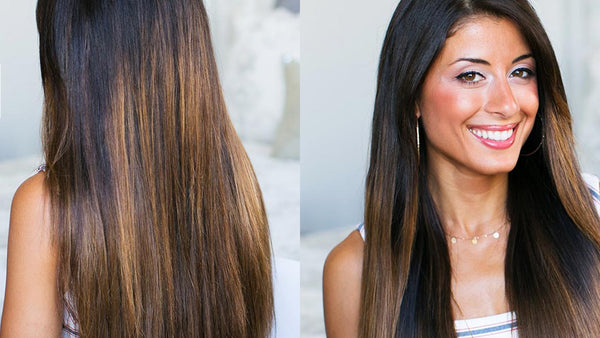 Straight, Shiny & Silky Smooth Hair Routine