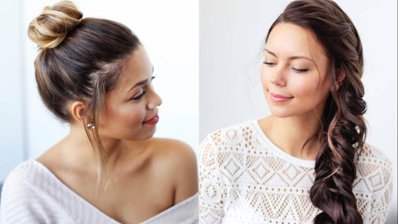 12 Easy Summer Hairstyles