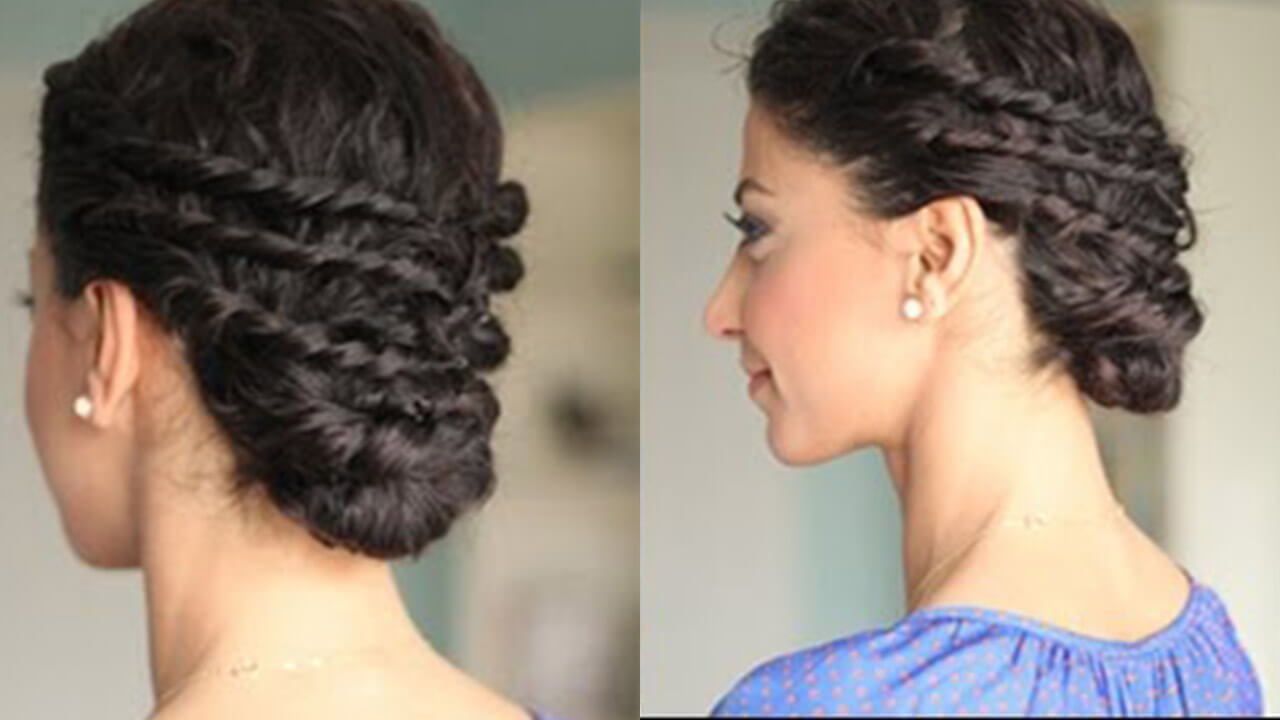 Easy Updo For Naturally Curly Hair Luxy Hair
