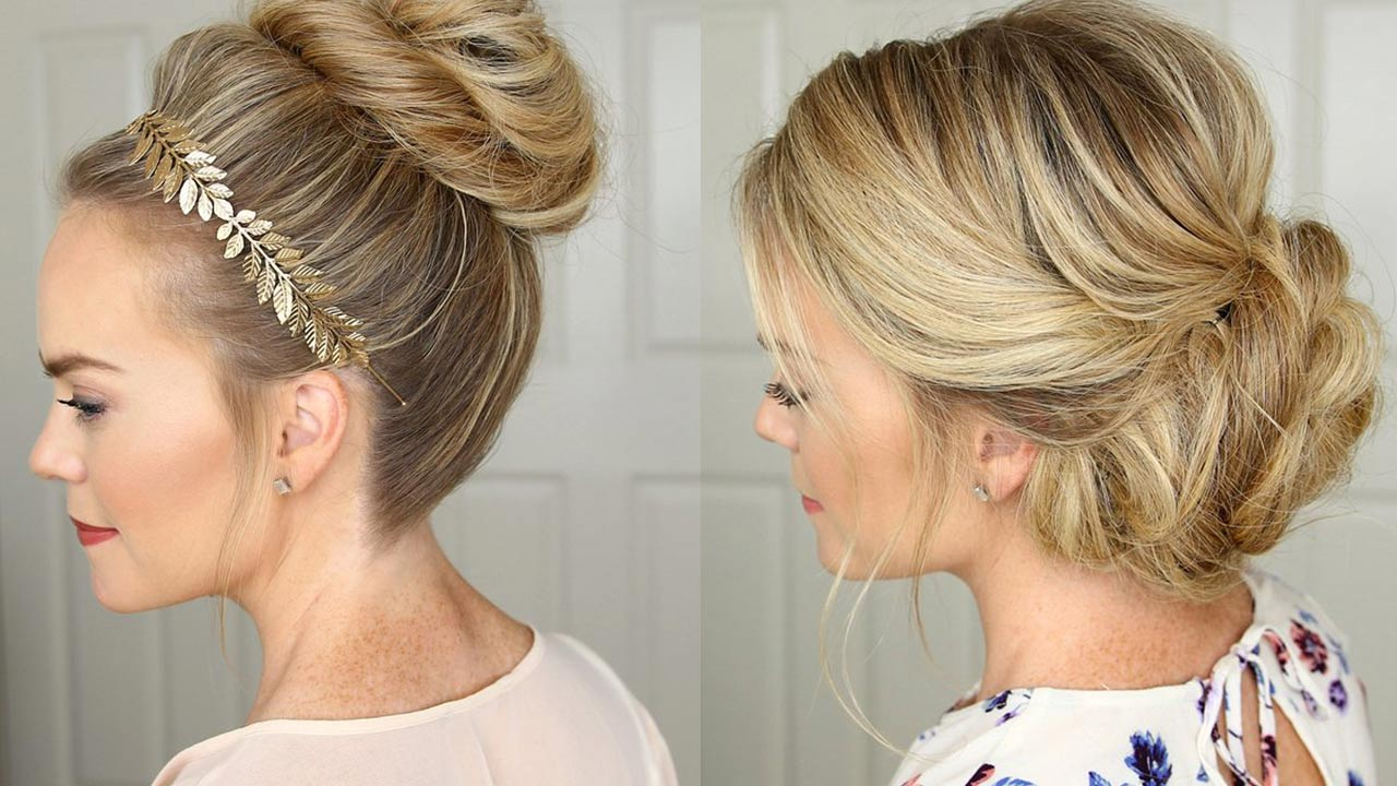 Wedding Updo Front And Back View Evangelinterior