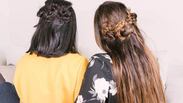 Luxy Girls Try: Viral Hair Tutorials (Pinterest, Instagram, YouTube)