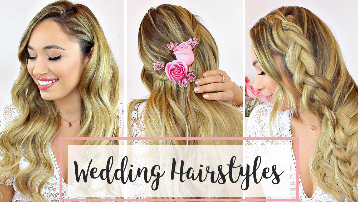 Wedding Hair 3 Diy Hairstyle Ideas