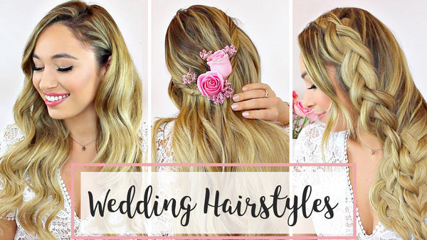 Wedding Hair: 3 DIY Hairstyle Ideas
