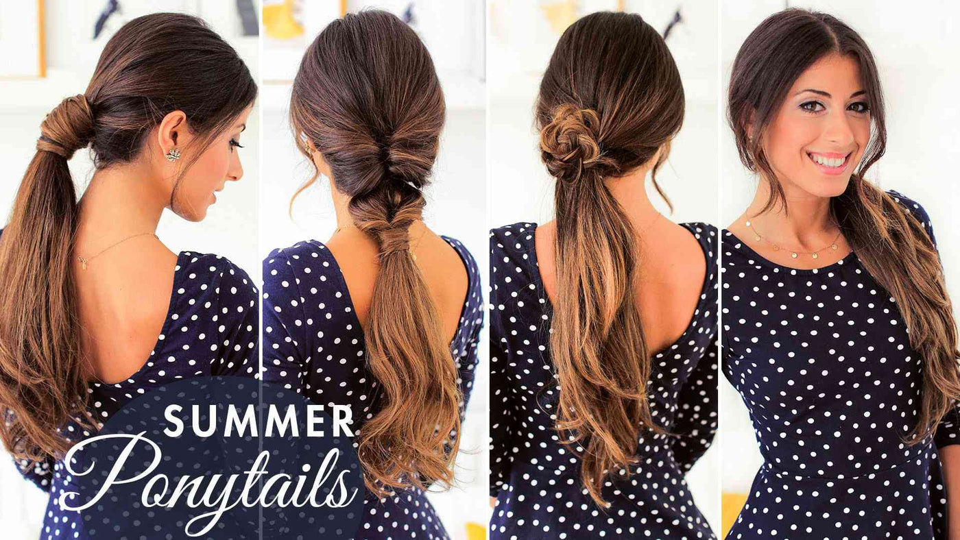 Ponytail Hairstyles: Cute Summer Ponytails