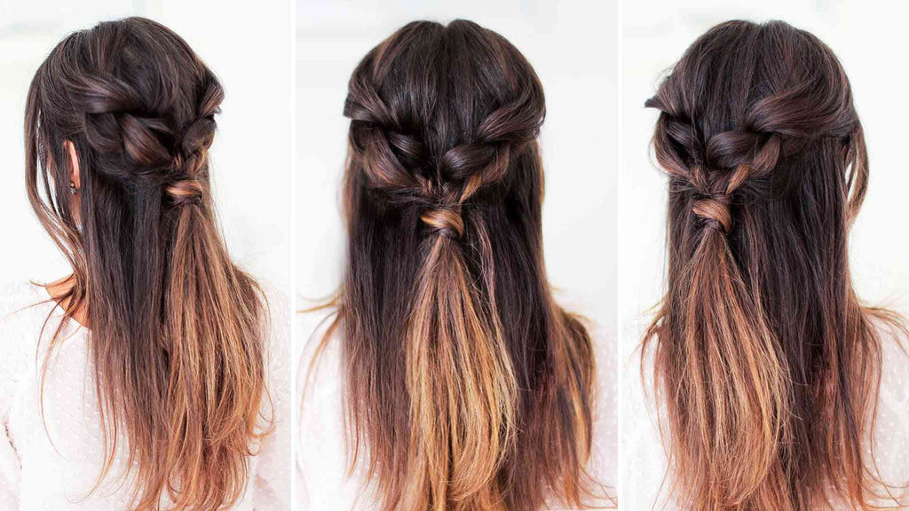 Easy Everyday Hairstyle – Luxy Hair