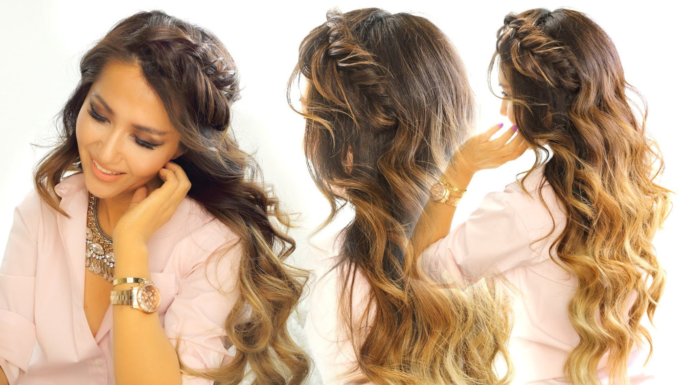 Makeupwearables Quick Easy School Hairstyle For Long Medium Hair